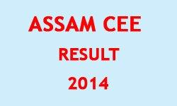 Assam CEE 2014 Result