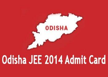 OJEE 2014 Admit Card