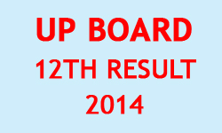 UP Board 12th Result 2014
