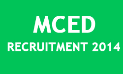 MCED Recruitment 2014