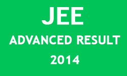 JEE Advanced Image of Result 2014