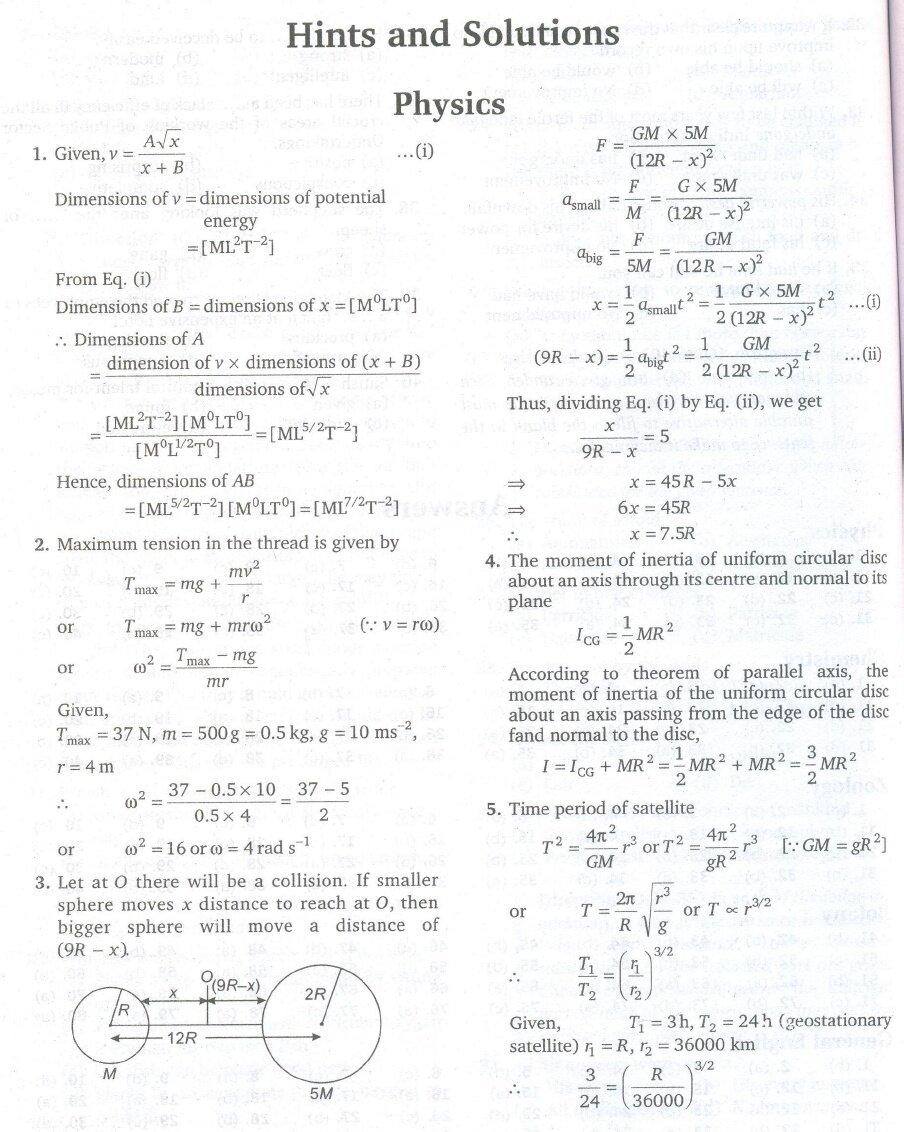 JIPMER MBBS 2010 Solved Paper