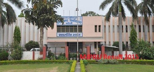 Mahatma Jyotiba Phule Rohilkhand University Result 2015