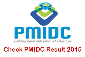 PMIDC Result 2015 List