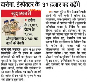 UP Police Sub Inspector 2015