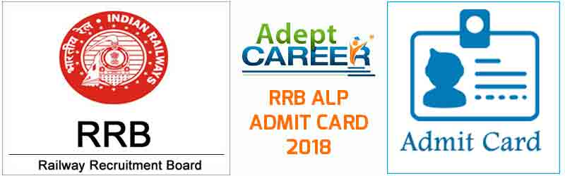 RRB ALP Admit Card 2018 Official